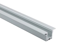 LED-Profil Serie WING HIGH silber eloxiert