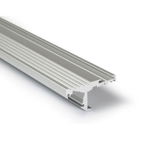 LED-Profil Serie STAIRS silber eloxiert